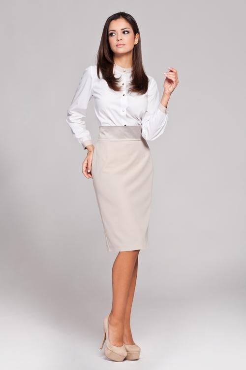 Dámská sukně FIGL M160 beige