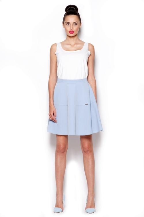 Dámská sukně FIGL M285 modrá