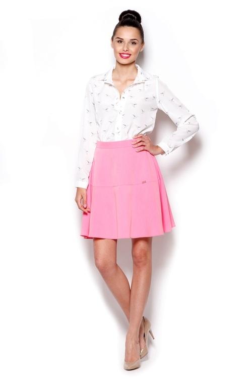 Dámská sukně FIGL M285 růžová