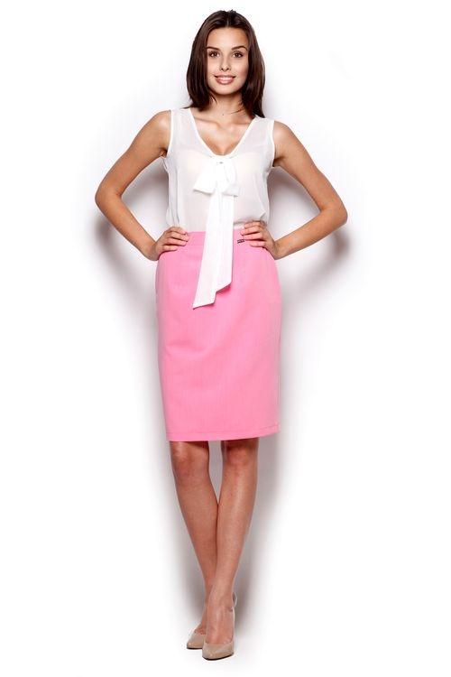 Dámská sukně FIGL M308 růžová