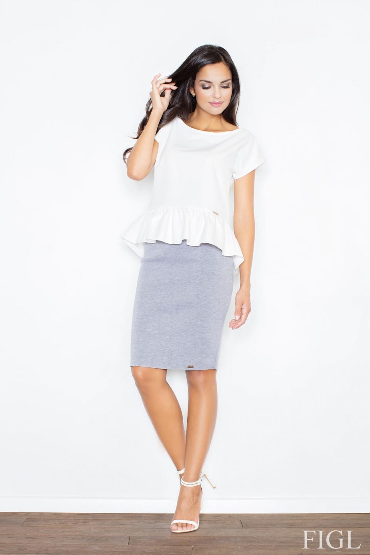 Dámská sukně FIGL M359 šedá