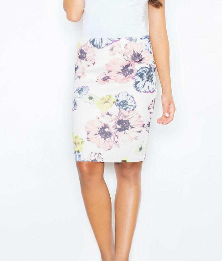 Dámská sukně FIGL M387 flowers