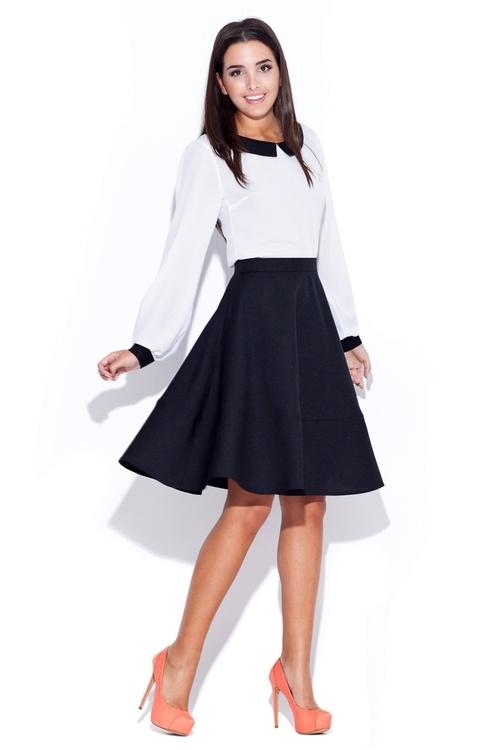 Dámská sukně Katrus K055 černá