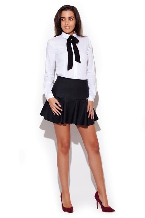 Dámská sukně Katrus K239 černá