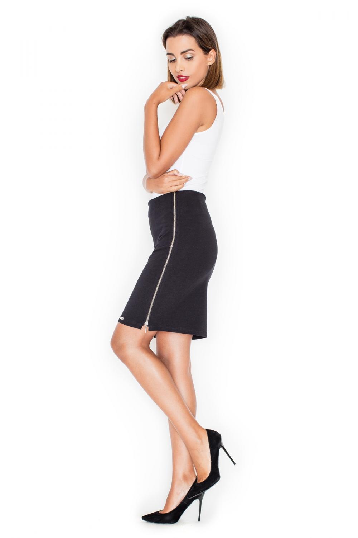 Dámská sukně Katrus K295 černá