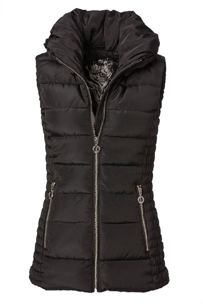 Dámská zateplená vesta O´Style 6530 černá
