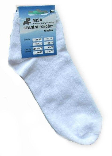 Dámské a pánské kotníkové ponožky Novia Míša