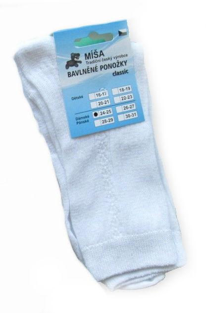 fad02a2cd23 Dámské a pánské ponožky Novia Míša classic