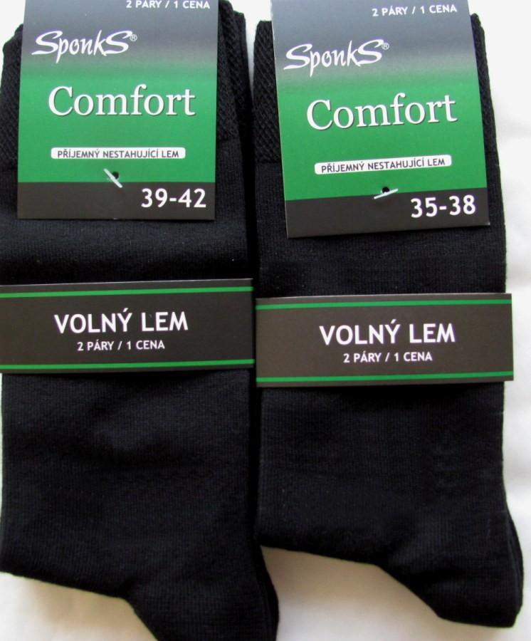 c2bc627ebfb Dámské a pánské ponožky Sponks - 2 páry