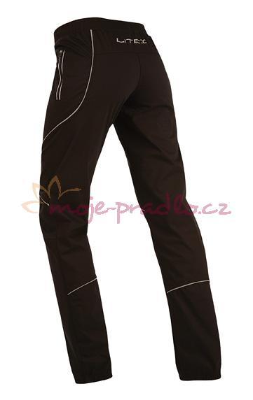 Dámské černé kalhoty dlouhé Litex 90213