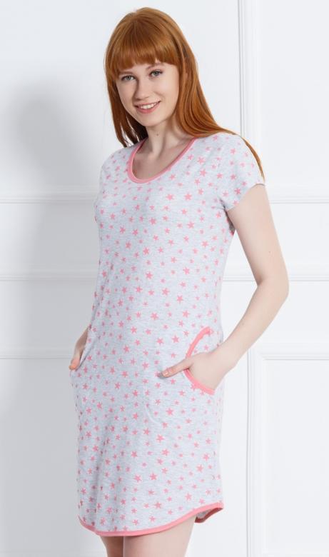 Dámské domácí šaty Vienetta Secret Stars b3c9b53176