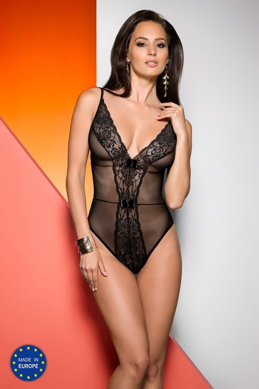 Dámské erotické body Avanua Jovita černé