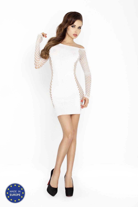 f96a753cad6 Dámské erotické šaty Passion BS025 bílé