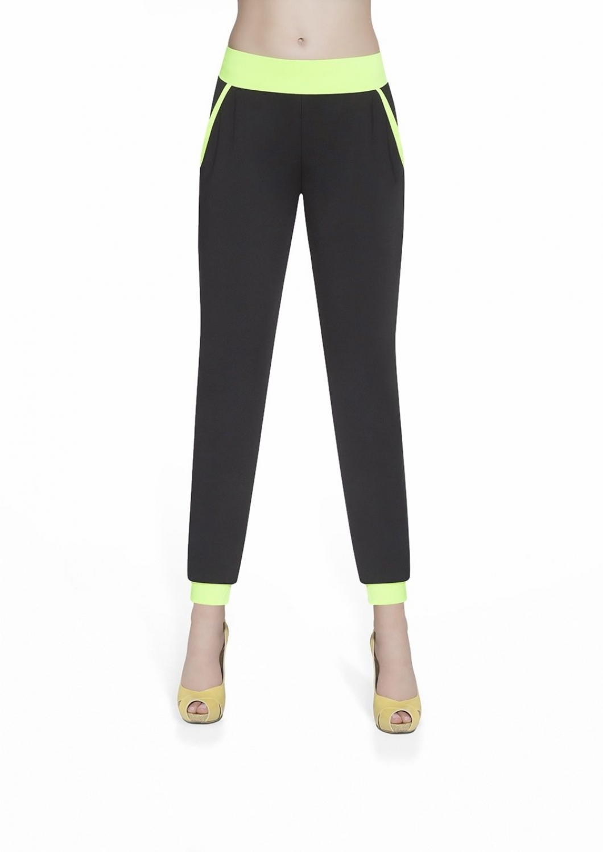 Dámské fitness kalhoty BasBleu Hannah green