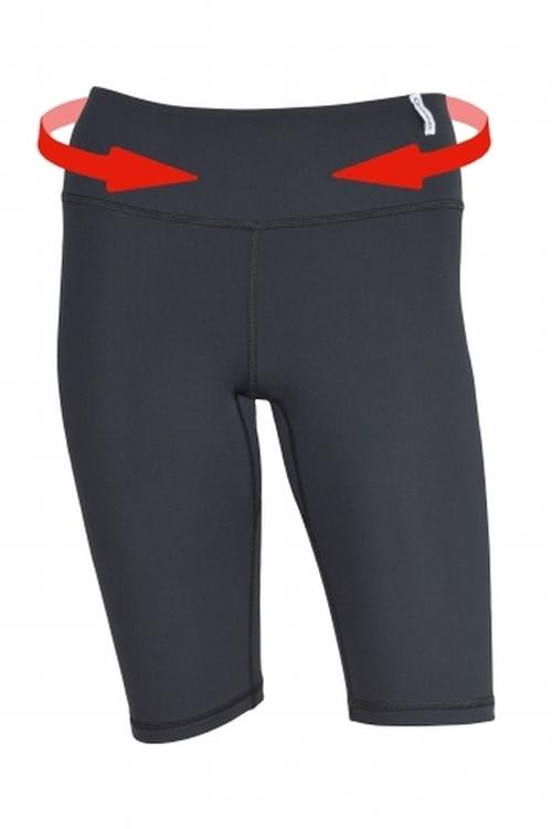 Dámské fitness šortky Winner Slimming shorts middle