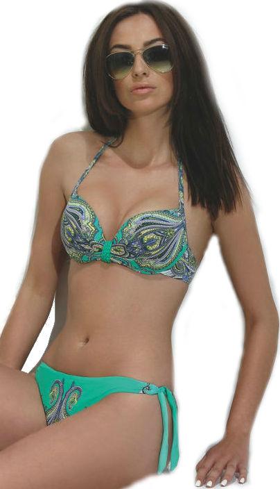 Dámské gelové push-up plavky Lilly LF146