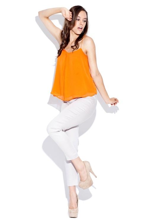 Dámské kalhoty Katrus K021 béžové