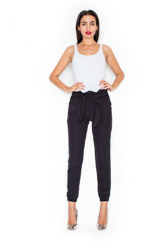 Dámské kalhoty Katrus K296 černé