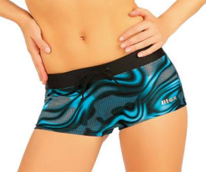 Dámské plavkové kalhotky s nohavičkou Litex 85467