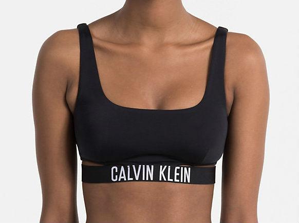 Dámské plavky Calvin Klein KW0KW00212 podprsenka červená
