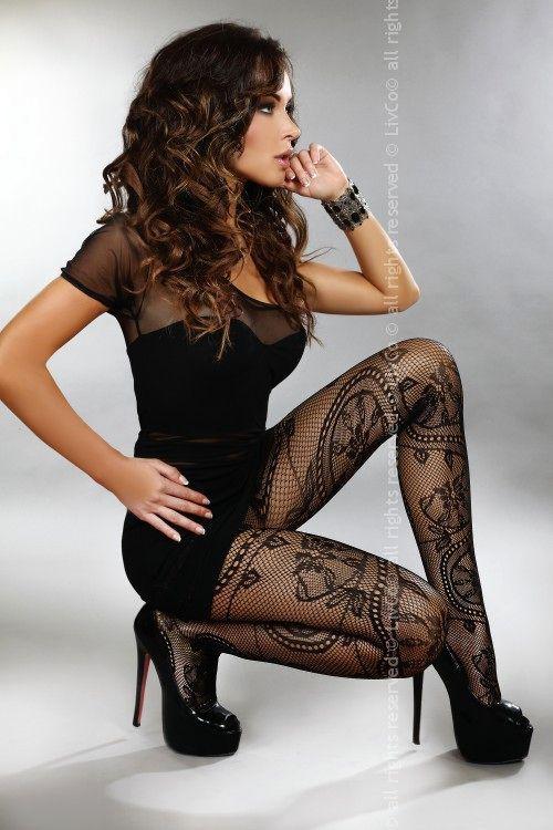 Dámské punčocháče Livia Corsetti Ahava