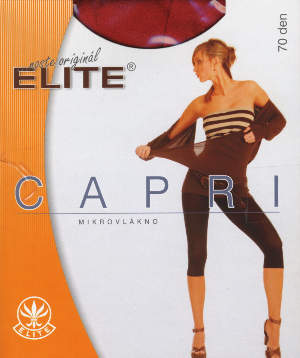 Dámské punčochové Elite - capri 70 DEN