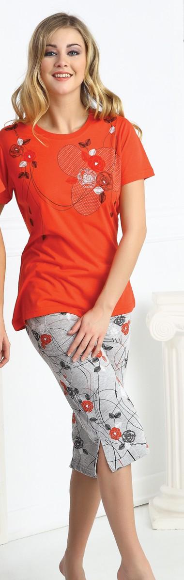 Dámské pyžamo capri CAPRICE 21170