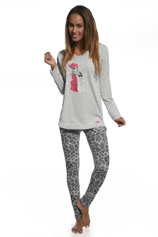 Dámské pyžamo Cornette 669/46 Giraffa sleva