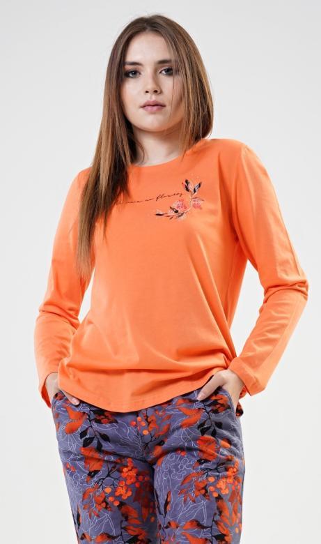 Dámské pyžamo dlouhé Vienetta Secret Nicol