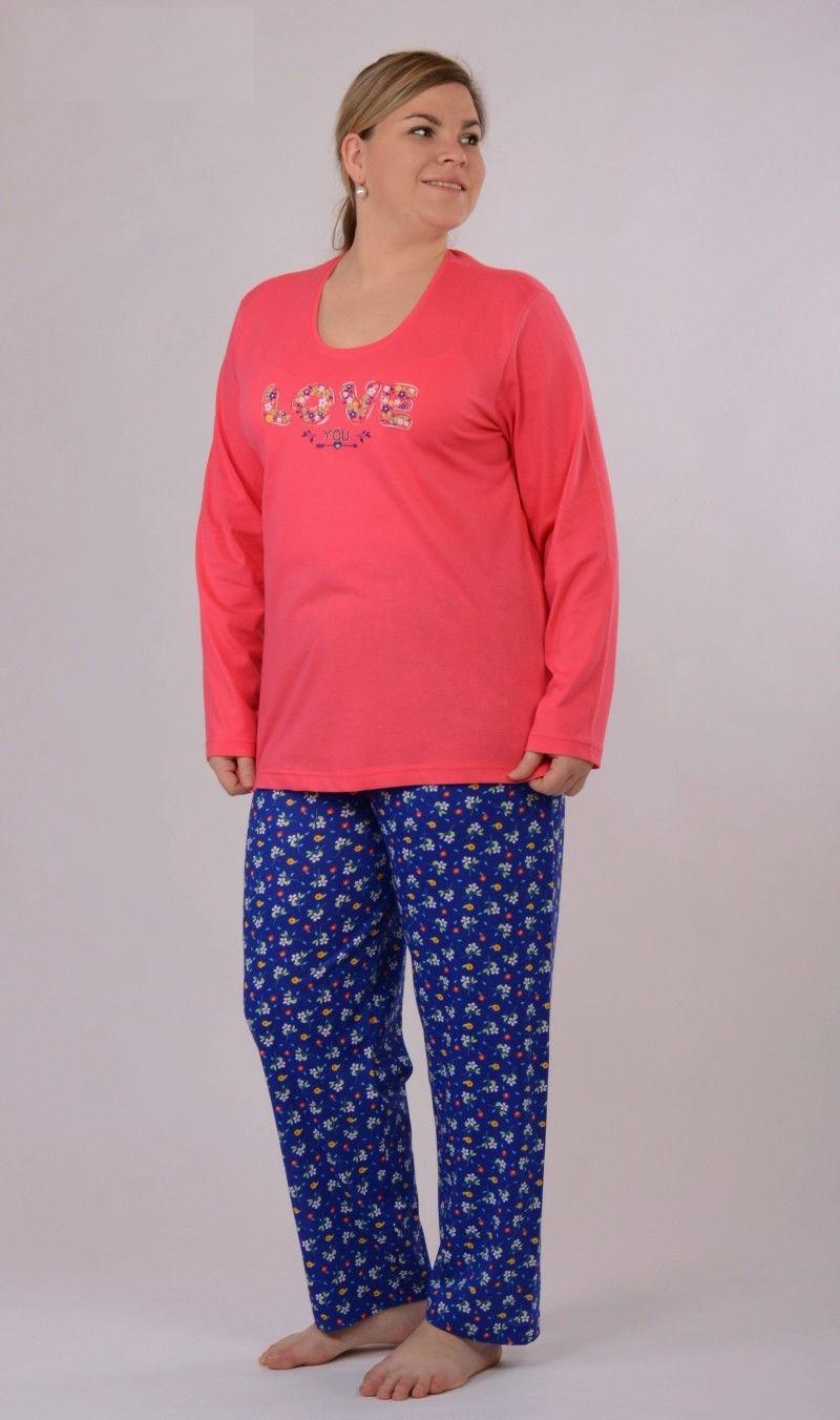 Dámské pyžamo dlouhé Vienetta Secret Šárka