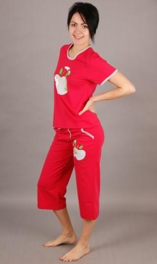 Dámské pyžamo kapri Jablko