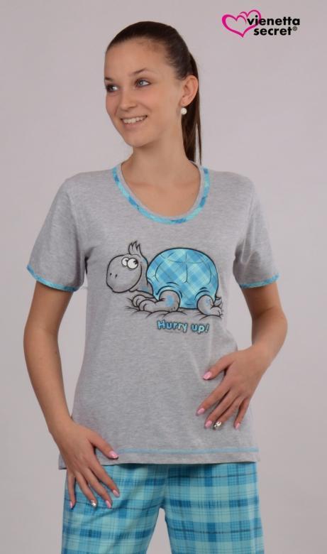 Dámské pyžamo kapri Želva