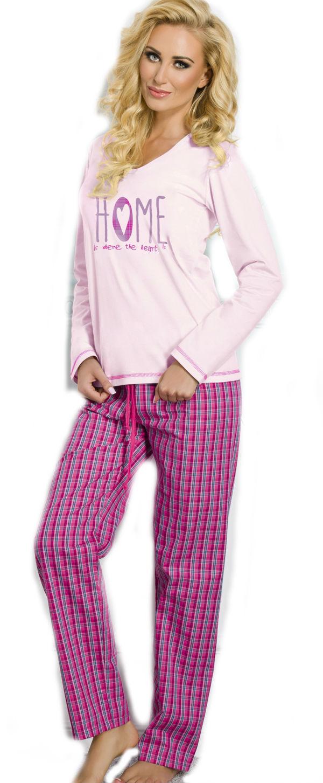 Dámské pyžamo TARO 1197 Larysa pink