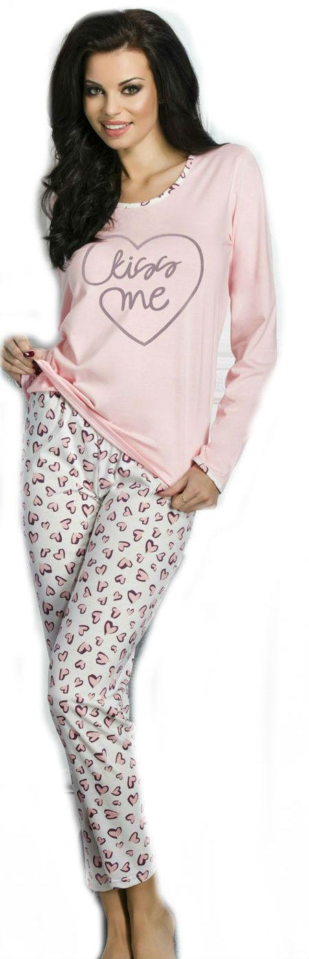 Dámské pyžamo TARO 211 Gabi pink