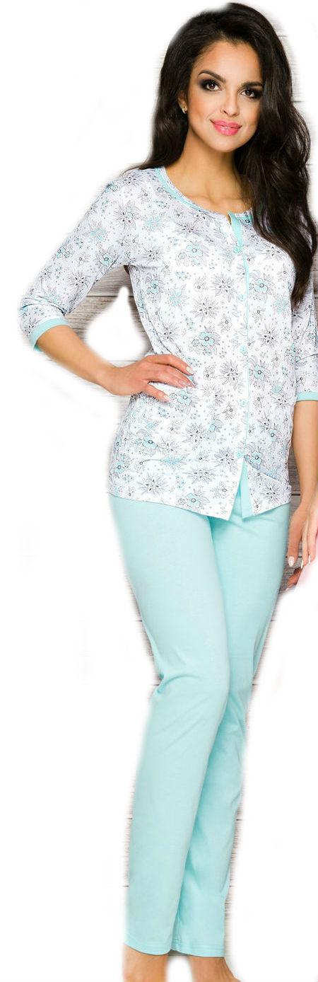 Dámské pyžamo Taro 2122 modré