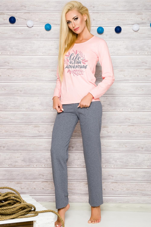 Dámské pyžamo Taro 286 růžové