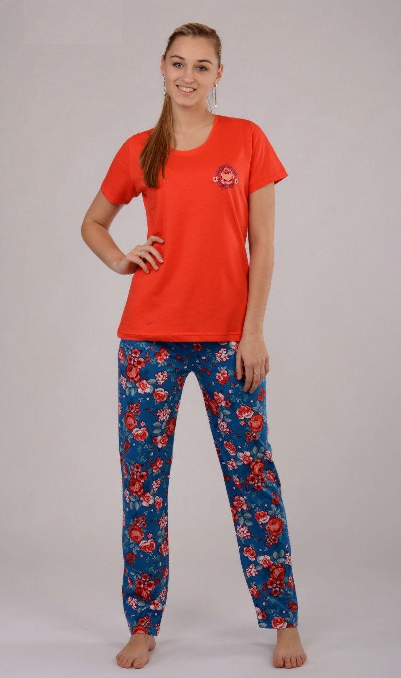 Dámské pyžamo Vienetta Secret Květ výprodej