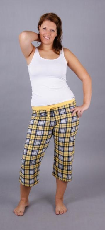 Dámské pyžamové kalhoty kapri Dana
