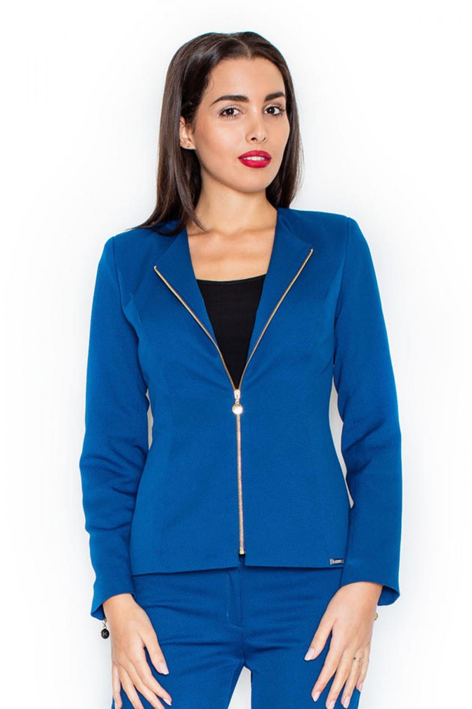 Dámské sako Katrus K301 modré