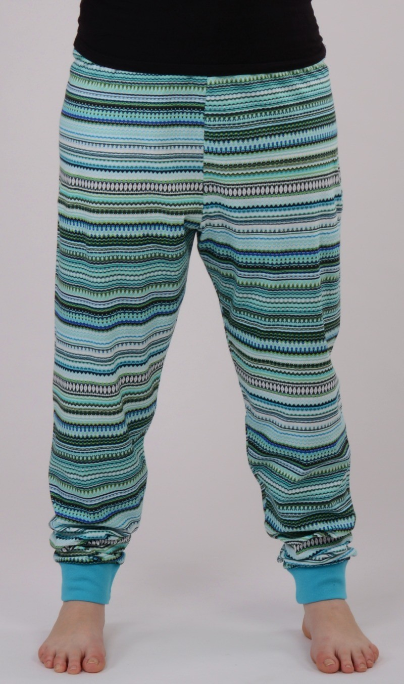 Dámské samostatné pyžamové kalhoty Vienetta Secret Veronika