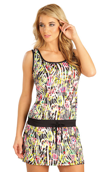 Dámské šaty bez rukávu Litex 52536 tisk