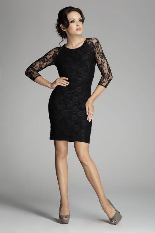 Dámské šaty FIGL M076 black