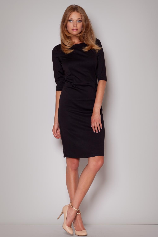 ee73e7d5c990 Dámské šaty FIGL M202 černé