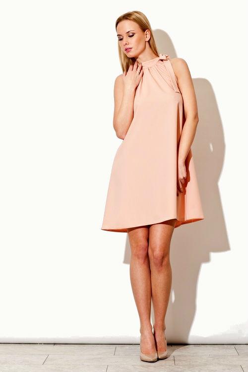 Dámské šaty FIGL M277 růžové