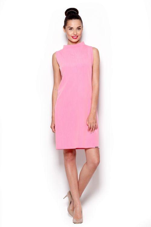 Dámské šaty FIGL M299 růžové