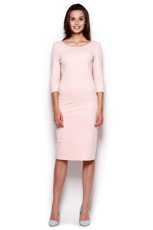 Dámské šaty FIGL M301 růžové