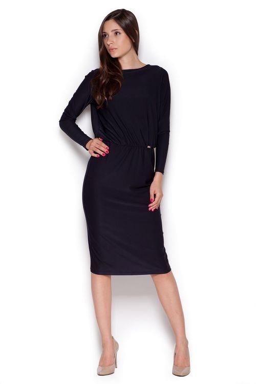 Dámské šaty FIGL M326 černé
