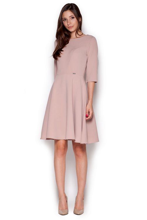 Dámské šaty FIGL M327 růžové