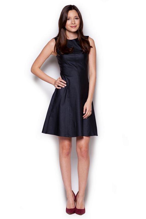Dámské šaty FIGL M342 černé