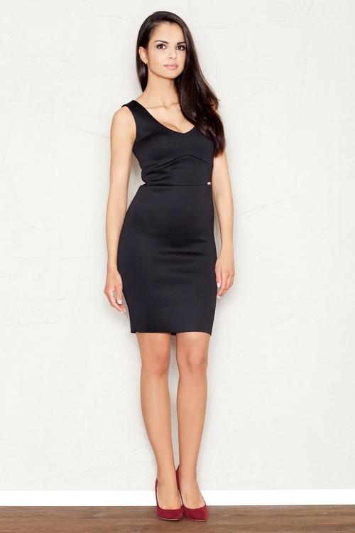 Dámské šaty FIGL M353 černé